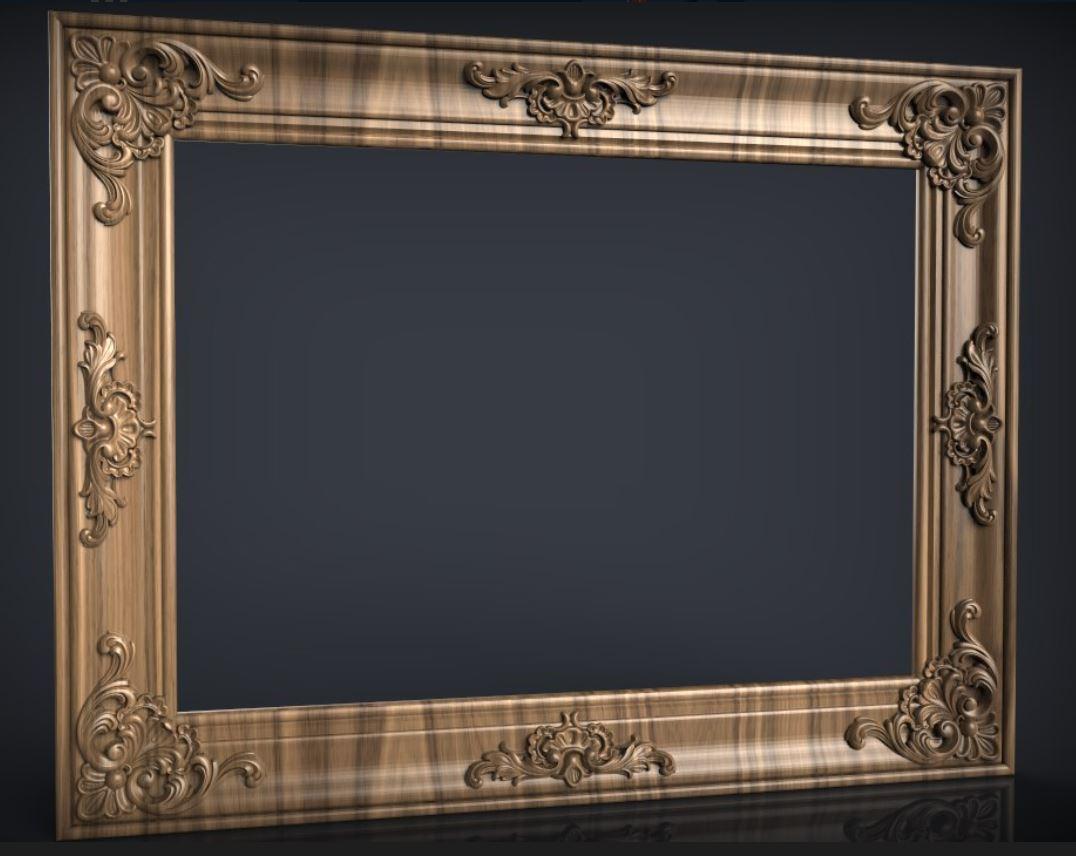 Резные рамы для зеркал на заказ в Луцке