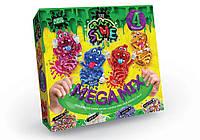 Набор для изготовления лизуна Crazy Slime Mega Mix 4 в 1 Данко-Тойс 01063