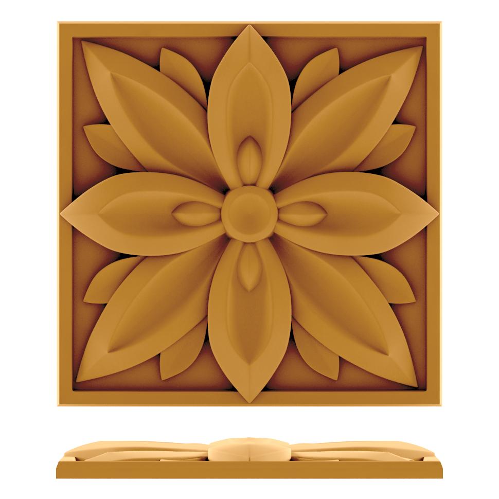 Накладки декоративные и другие изделия из дерева
