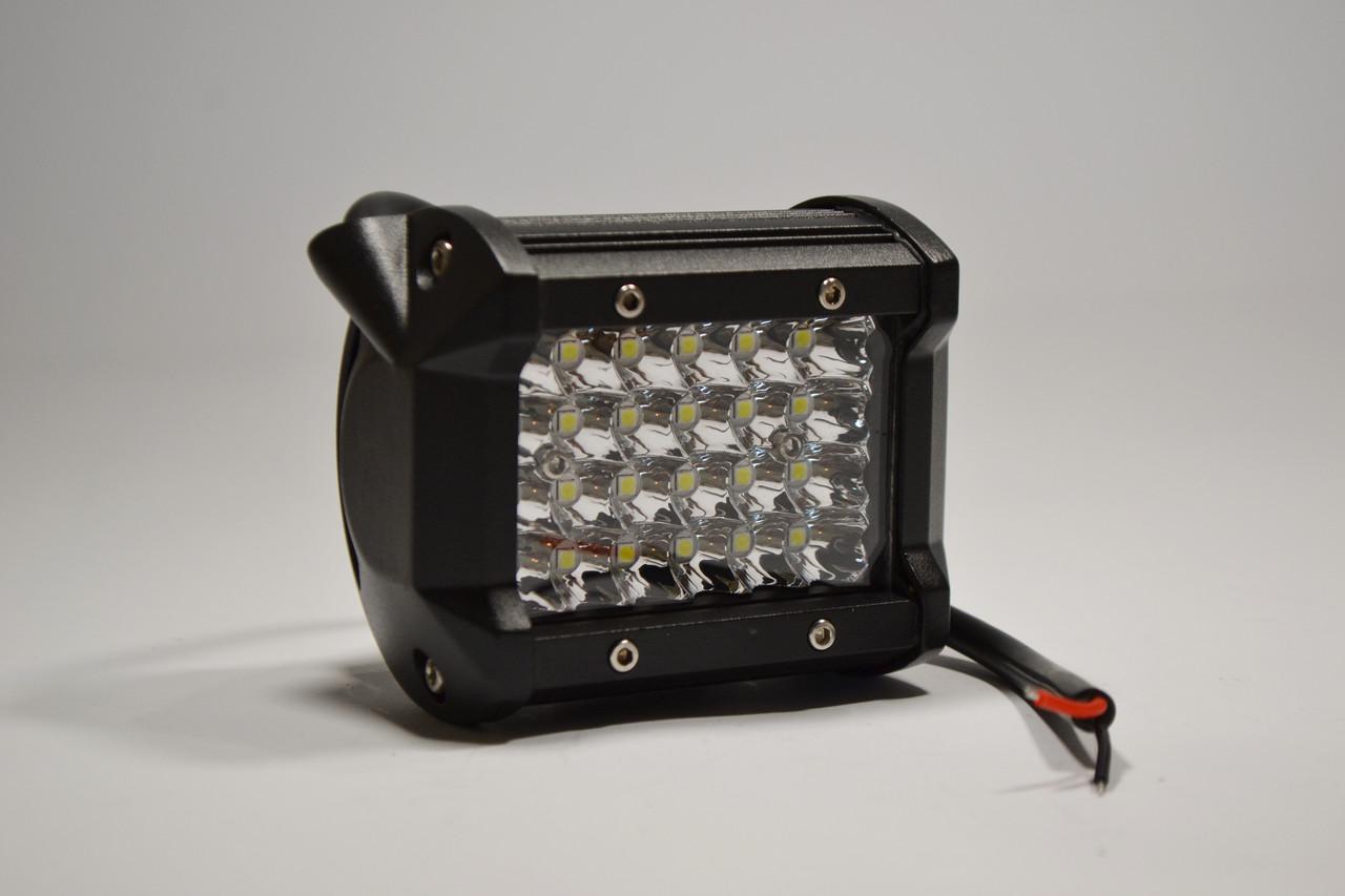 Светодиодная LED фара 72Вт  (светодиоды 3w x24шт)