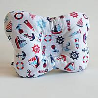 """Детская ортопедическая подушка для лечения и профилактики кривошеи у младенцев """"Балтика"""""""