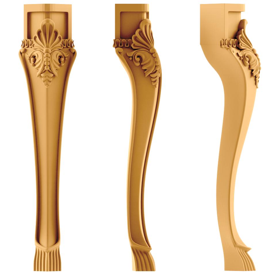 Изготовим ножки для мебели деревянные резные