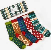 Носки Dodo Socks набор Mykolaiko Box 44-46, 5 шт