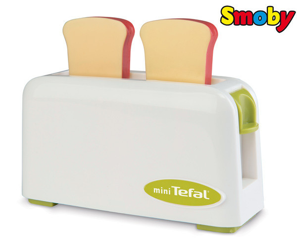 Оригинал. Тостер игрушечный Mini Tefal Smoby 310504