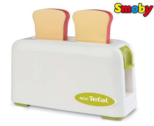 Оригинал. Тостер игрушечный Mini Tefal Smoby 310504 , фото 2
