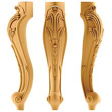 Деревянные резные ножки для стола на заказ