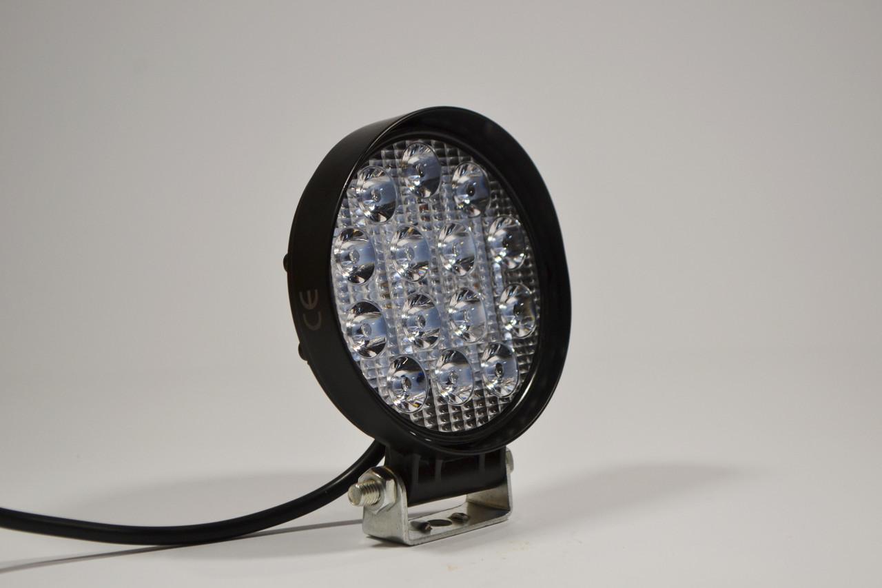 Светодиодная LED фара рабочая 27Вт,(1.7Вт*14ламп)