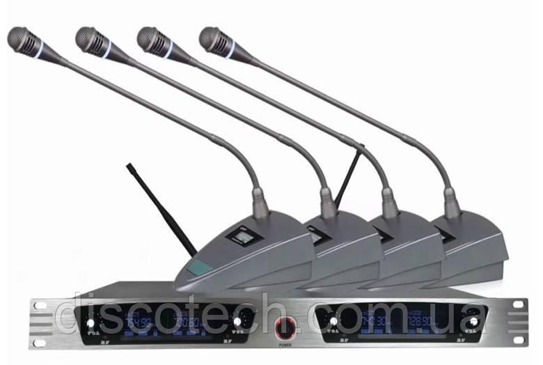 Беспроводная конференционная микрофонная система Emiter-S TA-991C