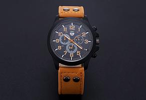 Мужские наручные часы LIANDU коричневые