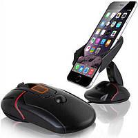 Держатель для телефона, планшета в автомобиль Holder black