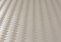 Карбоновая пленка 3D белый 100х152 см., фото 1