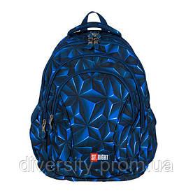 "Подростковый школьный рюкзак BP-02 "" Navi 3D Abstract""  ST.RIGHT 625671"