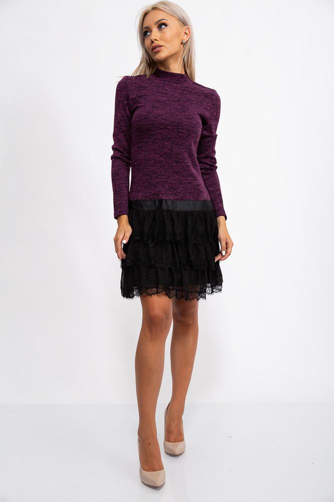 Платье 131R2895-1 цвет Фиолетовый
