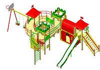 Детские игровые комплексы - серия «Стандарт»
