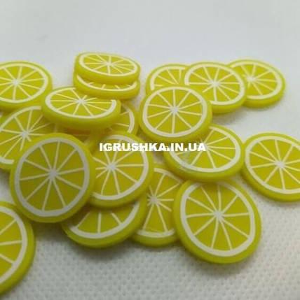 Шарм Фимо «Лимон» для слайма, фото 2