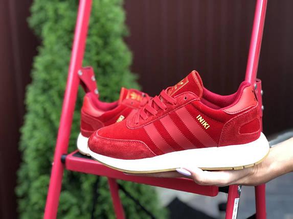 Стильные женские кроссовки красного цвета с 36 по 41 размер, фото 2