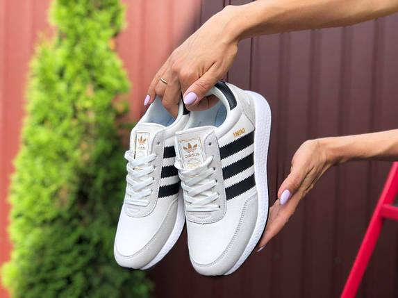 Стильные женские кроссовки белые с черным с 36 по 41 размер, фото 2