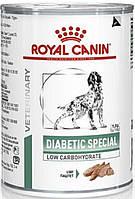 Royal Canin Diabetic Special Dog влажный, 410 гр
