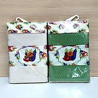 Кухонные полотенца Вафельные (ТМ Nilteks) хлопок 40*60 (2шт.) Турция 1185863543