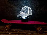 """Сменная пластина для 3D светильников """"Бейсболка"""" 3DTOYSLAMP, фото 1"""