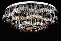 Светодиодная хрустальная люстра L78324/21(CR+WT+SHANBIN) LED