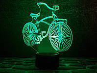 "3D ночник ""Велосипед"" 3DTOYSLAMP, фото 1"