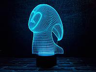 "Сменная пластина для 3D ночника ""Спирит"" 3DTOYSLAMP, фото 1"