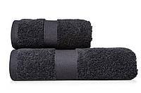 Полотенце махровое 40х70 черное (арт. УР5108)