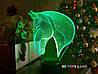 """3d светильник """"Лошадка 3"""" 3DTOYSLAMP"""