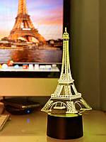 """Сменная пластина для 3D светильников """"Эйфелева Башня"""" 3DTOYSLAMP, фото 1"""