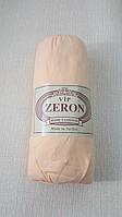 Простынь на резинке трикотажная 180*200 персиковая (TM Zeron), Турция 1185864240