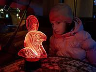 """Детский ночник - светильник """"Ра"""" 3DTOYSLAMP, фото 1"""
