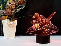 """3D светильник ночник """"Самолет 5"""" 3DTOYSLAMP, фото 1"""