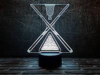 "3D светильник ""Бильярд 2"" 3DTOYSLAMP, фото 1"