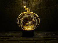 """Сменная пластина для 3D светильников """"Хэллоуин"""" 3DTOYSLAMP, фото 1"""