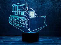 """Сменная пластина для 3D светильников """"Бульдозер"""" 3DTOYSLAMP, фото 1"""