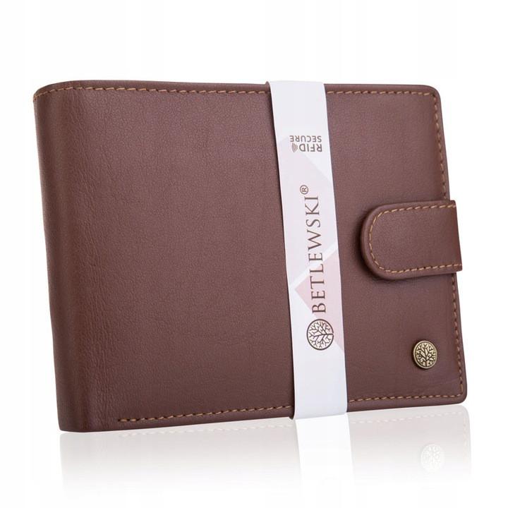 Шкіряний гаманець BETLEWSKI RFID