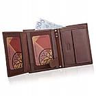 Шкіряний гаманець BETLEWSKI з RFID 12,8 х 10 х 2,5 (BPM-BH-62) - коричневий, фото 6