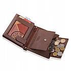Шкіряний гаманець BETLEWSKI з RFID 12,8 х 10 х 2,5 (BPM-BH-62) - коричневий, фото 9