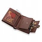 Шкіряний гаманець BETLEWSKI з RFID 12,8 х 10 х 2,5 (BPM-BH-993) - коричневий, фото 3