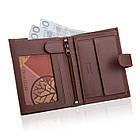 Шкіряний гаманець BETLEWSKI з RFID 12,8 х 10 х 2,5 (BPM-BH-993) - коричневий, фото 5