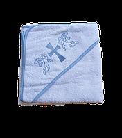 Полотенце для крещения с уголком 92*92 380г/м2 (TM Zeron), Турция 1185863497, фото 1