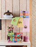 Кухонные полотенца Вафельные (ТМ Nilteks) хлопок 30*50 (6шт.) Турция, фото 1