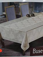 Скатерть тефлоновая прямоугольная Maison Royale Buse 160х220 Gold, Турция