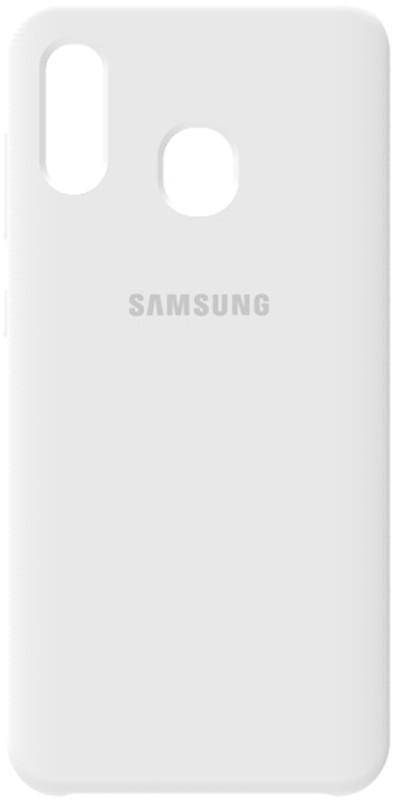 Чехол-накладка TOTO Silicone Case Samsung Galaxy A20/A30 White #I/S