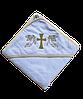 Полотенце для крещения с уголком 92*92 380г/м2 (TM Zeron), Турция 1185864125