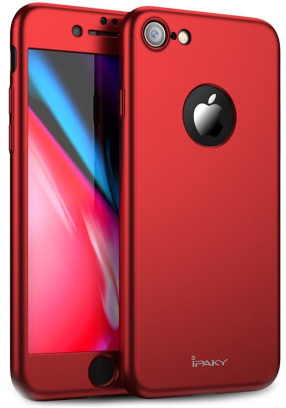 Чехол-накладка Ipaky 360 PC Full Protection Case Apple iPhone 7/8 Red #I/S