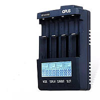 Интеллектуальное универсальное зарядное OPUS BT C3100 V2.2 для Ni Cd/Ni Mh и Li Ion аккумуляторов Черный (1007894759)