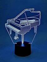 "Сменная пластина для 3D ламп ""Рояль"" 3DTOYSLAMP, фото 1"