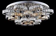 Светодиодная хрустальная люстра L78323/24+1 (CR+SHANBIN) LED, фото 1